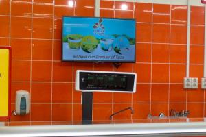 Размещение рекламы в супермаркетах Новосибирска